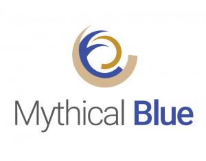 mythical blue logo